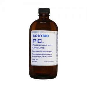 PC (Phosphatidyl Choline) 3000mg - 16 OZ - BodyBio