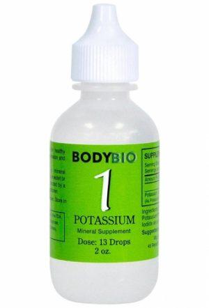 Potassium #1 Liquid Mineral - 2oz - Bodybio