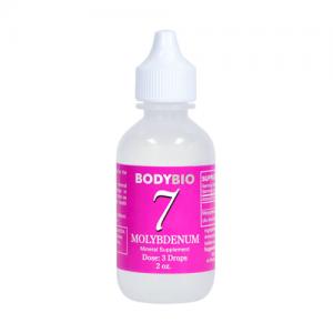 Molybdenum #7 Liquid Mineral - 2oz - Bodybio