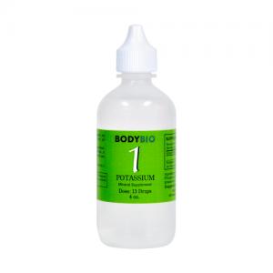 Potassium #1 Liquid Mineral - 4oz - Bodybio