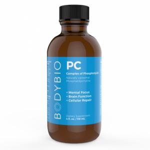 PC (Phosphatidyl Choline / Phosphatidylcholine) 3000mg - 4oz - BodyBio