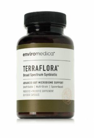 Terraflora - Broad Spectrum Synbiotic (soil based / SBO) - 60 Capsules - Enviromedica