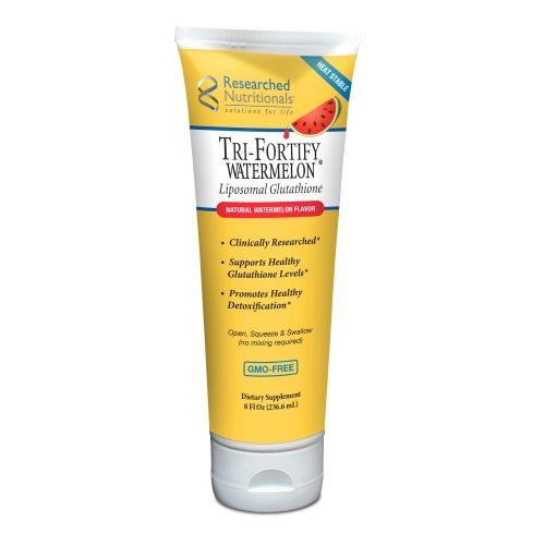 Tri-Fortify Tube (Liposomal Glutathione & Vitamin C) 8 fl oz - Researched Nutritionals