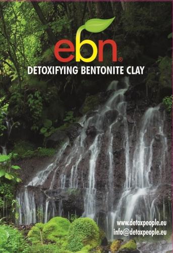 bentonite clay (2kg) - EBN Detoxifying Clay