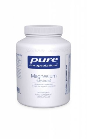 Magnesium (glycinate) 240mg, 360 caps - Pure Encapsulations