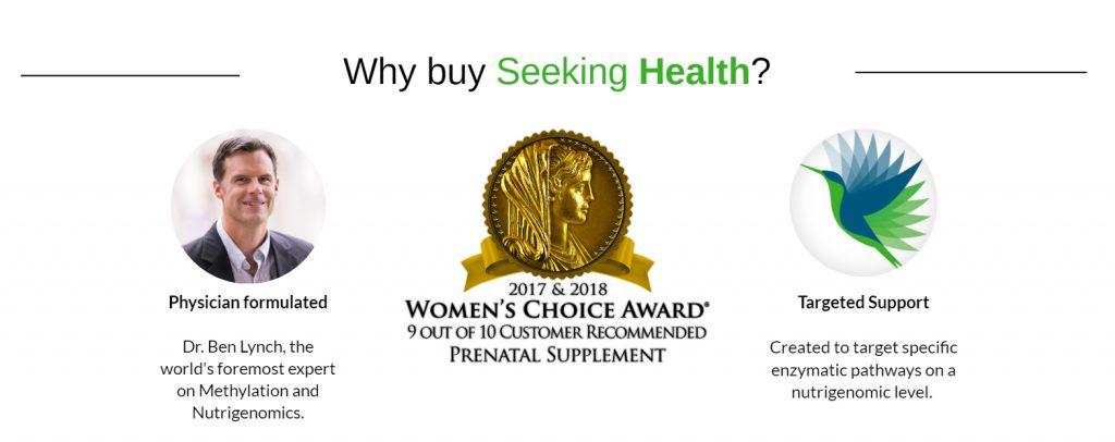 Why buy from Seeking Health