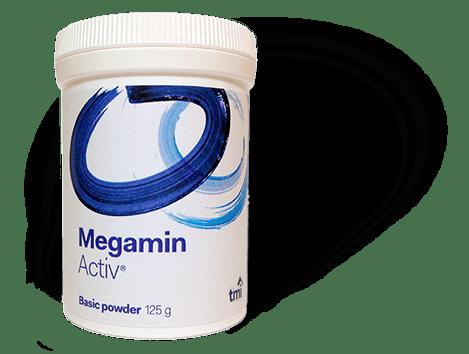 Megamin Activ (TMA-Z / TMAZ 7, tribomineral activated zeolite) 125g