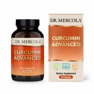 Curcumin Advanced, 500 mg, 90 Capsules - Dr Mercola - SOI*