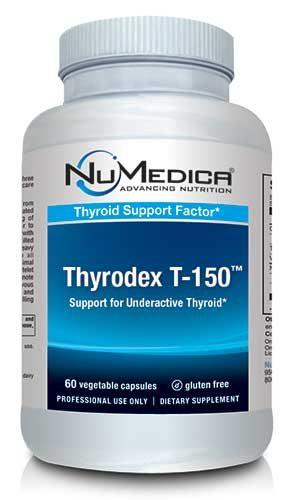 Thyrodex T-150 - 60 veg caps - NuMedica - SOI*