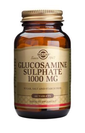Glucosamine Sulphate 1000mg 60 Tablets - Solgar