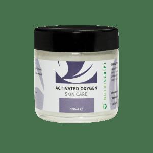 Ozonated oil for skin