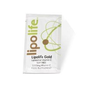 lipolife gold sample sachet