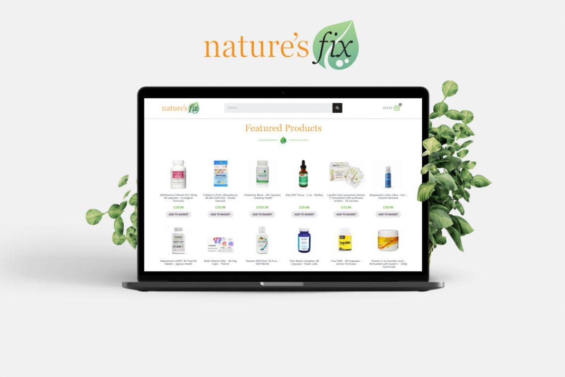 Nature's Fix New Website